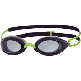 Zoggs Fusion Air Goggle Black/Green/Smoke